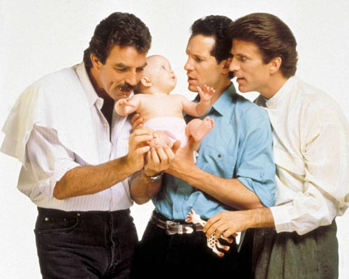 3 Men and A Baby [Cast] Photo