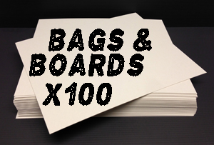 8x10 Photo Backing Boards & Photo Bags (x100 each) Photo
