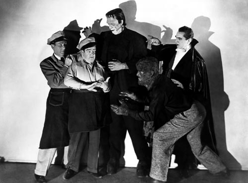 Abbott and Costello Meet Frankenstein [Cast] Photo