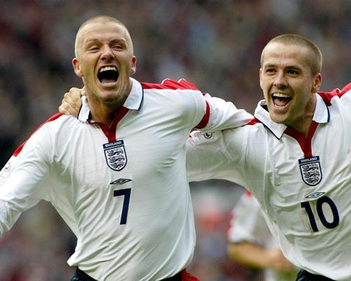 Beckham, David / Owen, Michael Photo