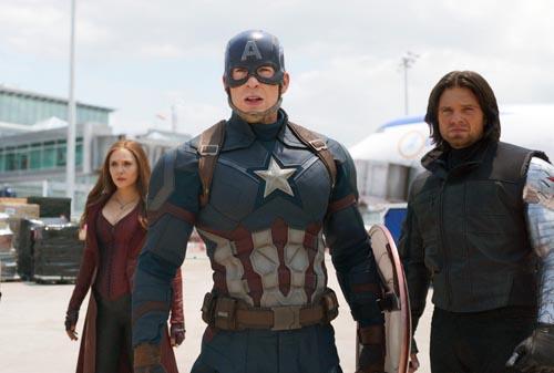 Captain America [Cast] Photo