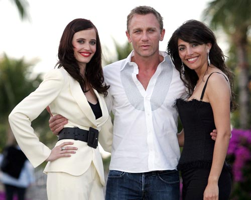 THE CAST OF CASINO ROYALE