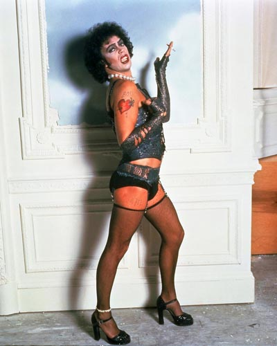 Rocky horror style outfits