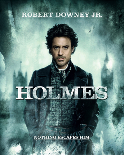 Downey Jr, Robert [Sherlock Holmes] photo
