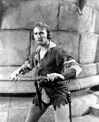 Flynn, Errol [The Adventures of Robin Hood] Photo
