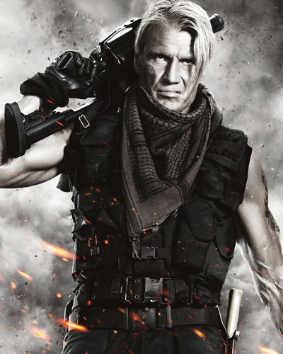 Lundgren, Dolph [The Expendables 2] Photo