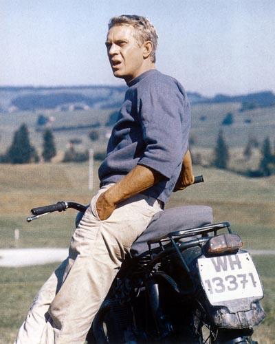 McQueen, Steve [The Great Escape] Photo