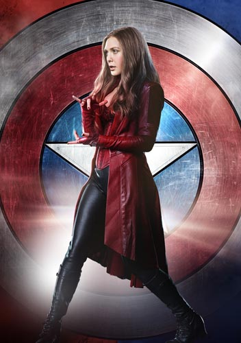 Olsen, Elizabeth [Captain America: Civil War] Photo