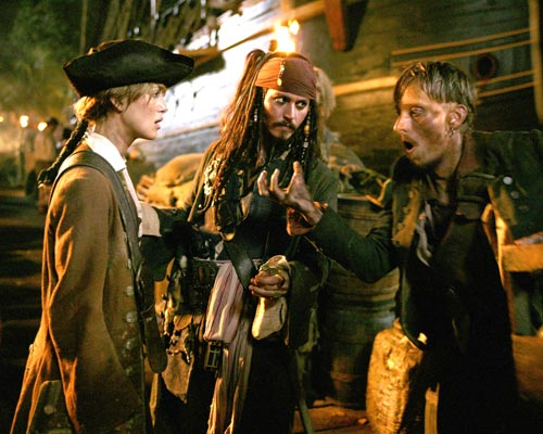 Cast Of Pirates Of The Carribean