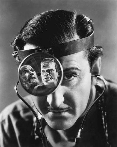 Rathbone, Basil [Son Of Frankenstein] Photo