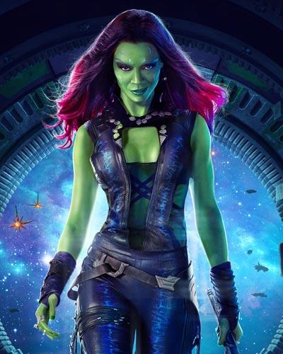 Saldana, Zoe [Guardians of the Galaxy] Photo