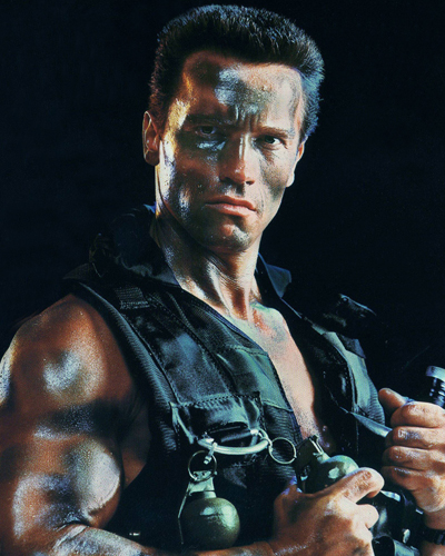 Schwarzenegger, Arnold [Commando] Photo
