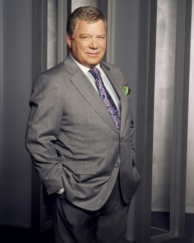 "WILLIAM SHATNER /& JAMES SPADER BOSTON LEGAL Signed Autograph PRINT 6x4/"" GIFT"