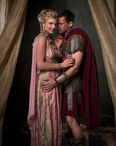 Spartacus : Blood and Sand [Cast] Photo